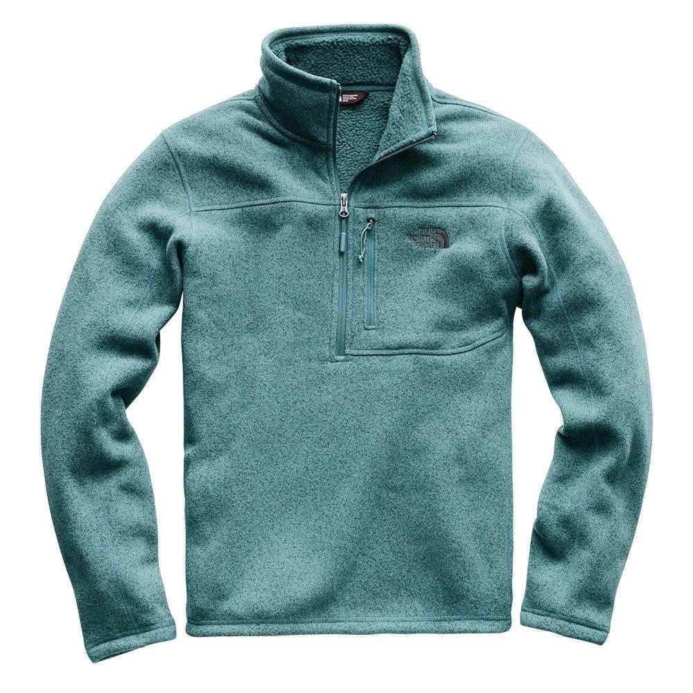 The North Face Gordon Lyons 1/4 Zip Fleece Mid-Layer (Men's) - Storm Blue Heather