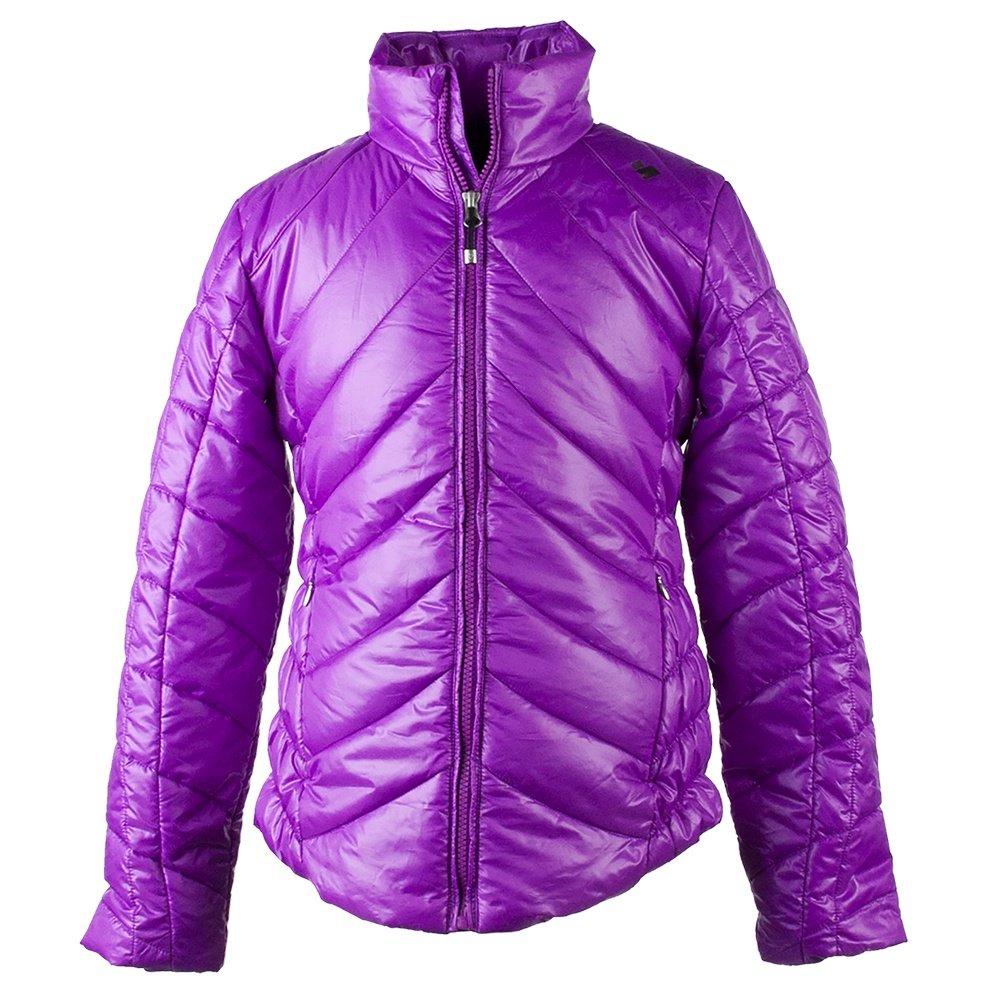 Obermeyer Gigi Insulator Coat (Girls') - Violet Vibe
