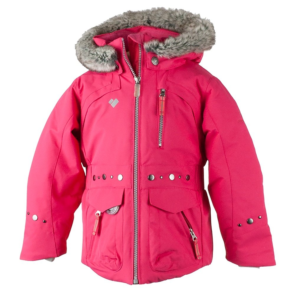 Obermeyer Taiya Ski Jacket (Little Girls') - Smitten Pink