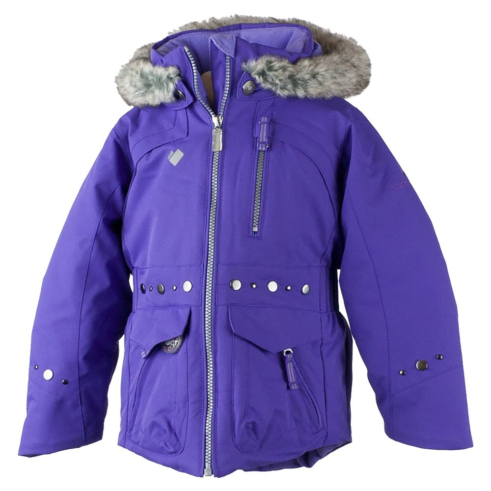 Obermeyer Taiya Ski Jacket (Little Girls') - Grapesicle