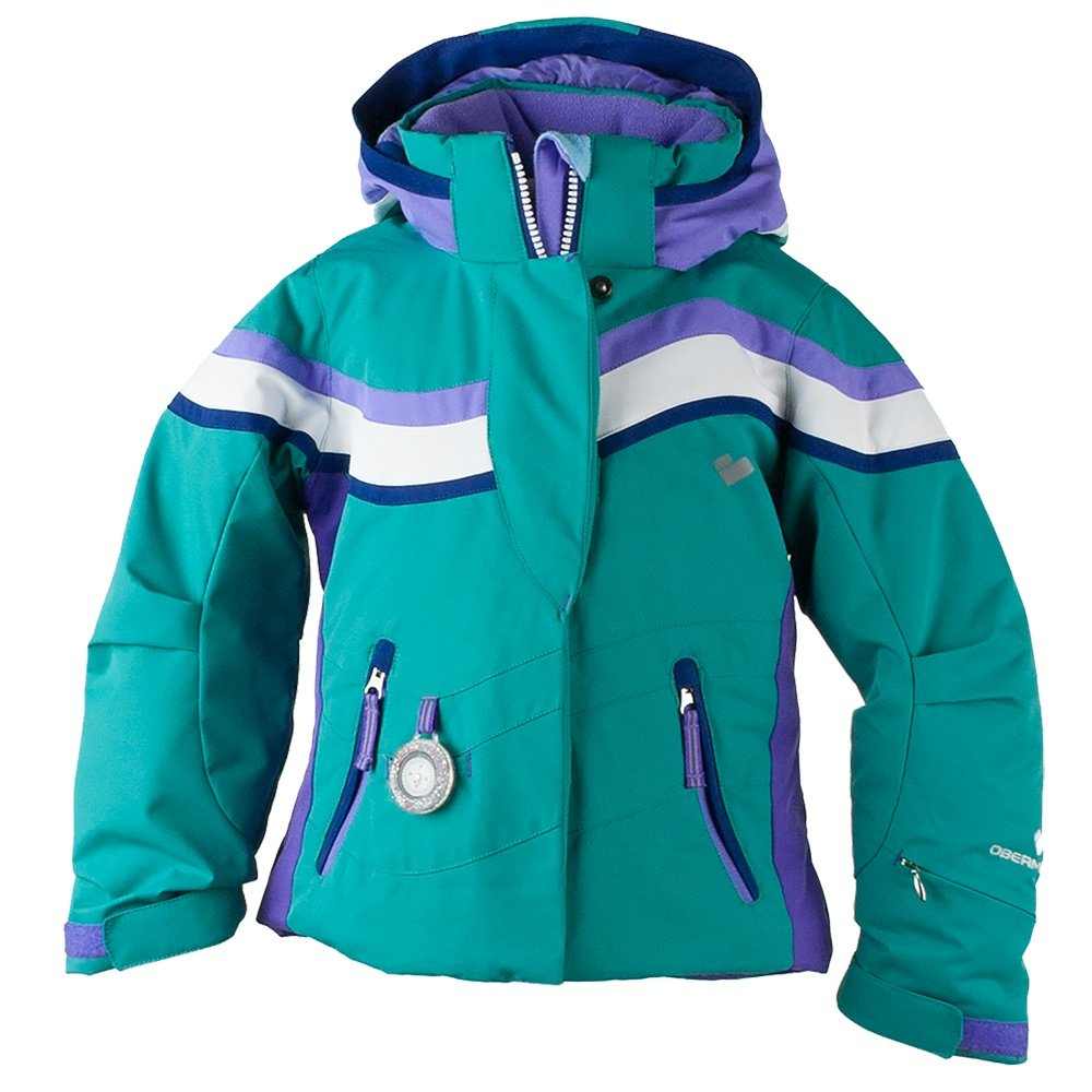 Obermeyer North-Star Ski Jacket (Little Girls') - Evergreen
