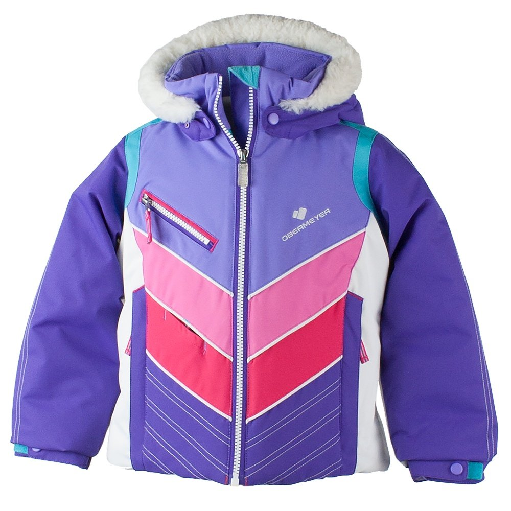 Obermeyer Sierra Ski Jacket (Little Girls') - Grapesicle