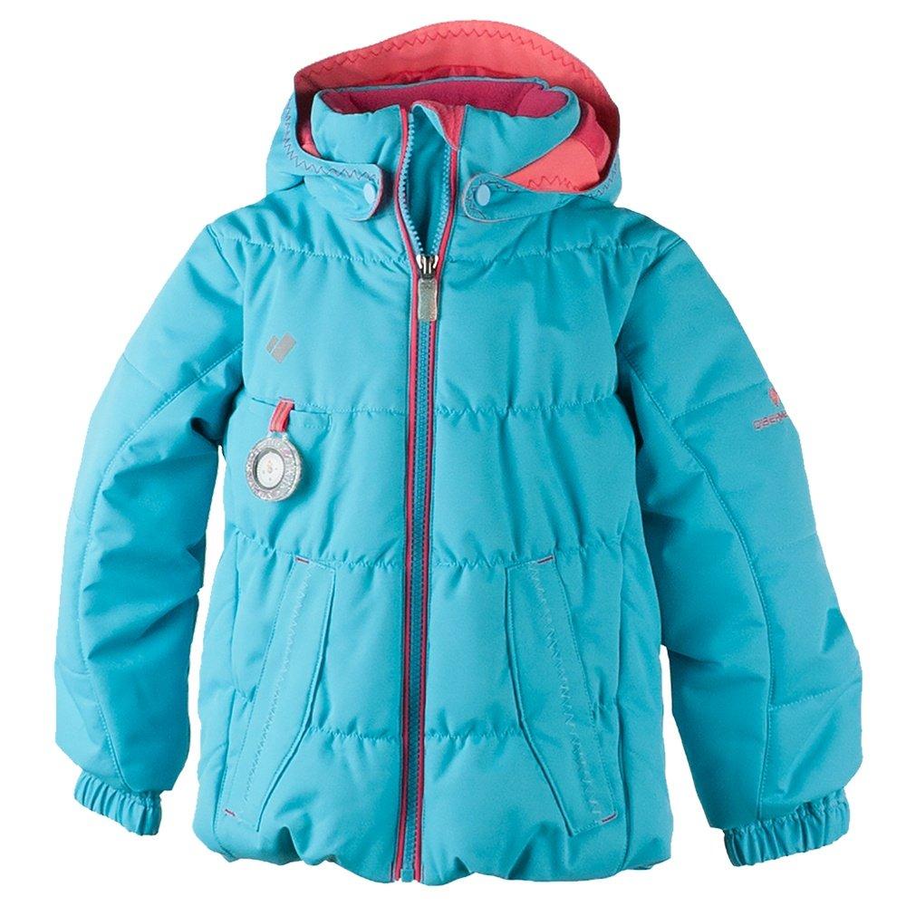 Obermeyer Marielle Ski Jacket (Little Girls') - Sparkle Blue