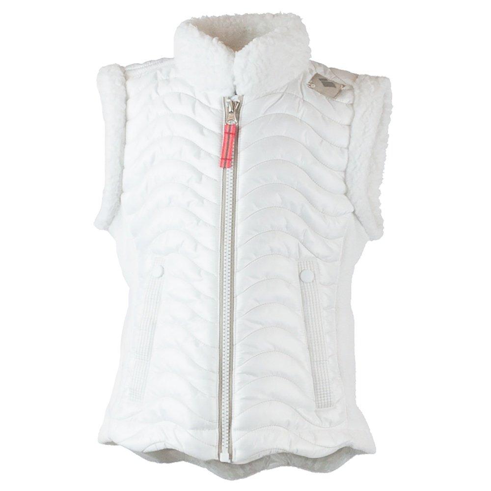 Obermeyer Snuggle Up Vest (Little Girls') - White