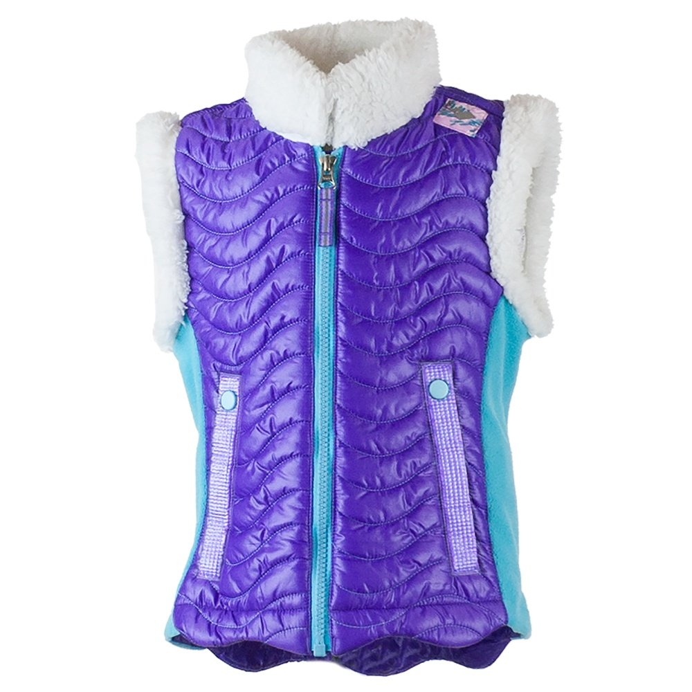 Obermeyer Snuggle Up Vest (Little Girls') - Grapesicle
