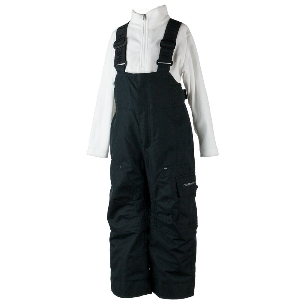 Obermeyer Volt Novelty Ski Pant (Little Boys') - Solid Black