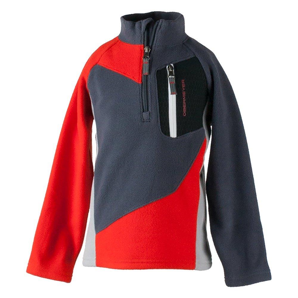 Obermeyer Pulsar Fleece Mid-Layer Top (Little Boys') - Red