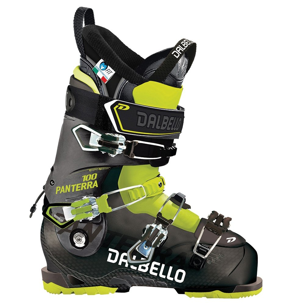 Dalbello Panterra 100 Boot Ski Boots (Men's) - Black/Acid Yellow