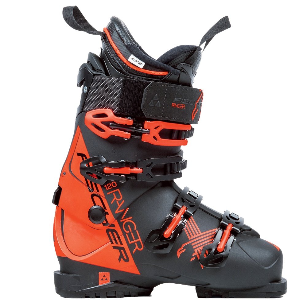 Fischer Ranger 120 Ski Boots (Men's) - Black/Black