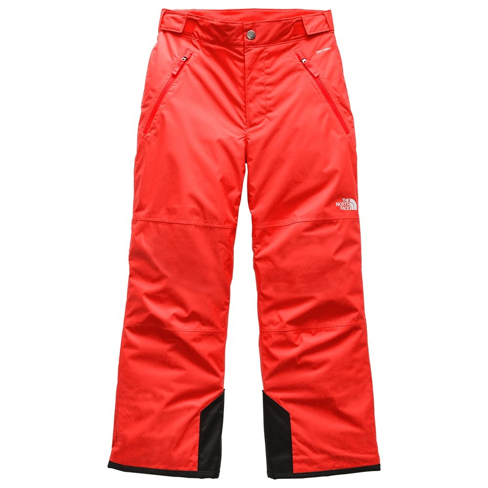 The North Face Freedom Insulated Ski Pant (Boys') - Fiery Red