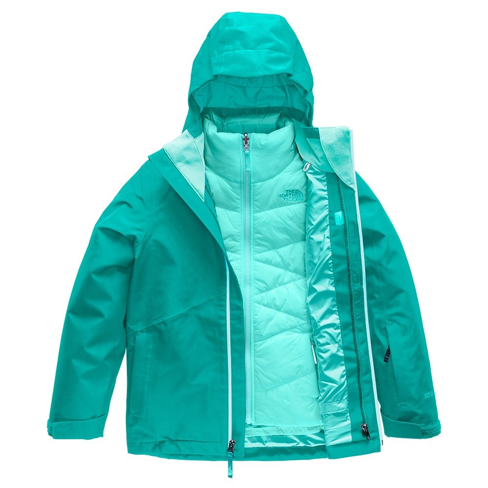 The North Face Fresh Tracks Triclimate Jacket (Girls') - Kokomo Green