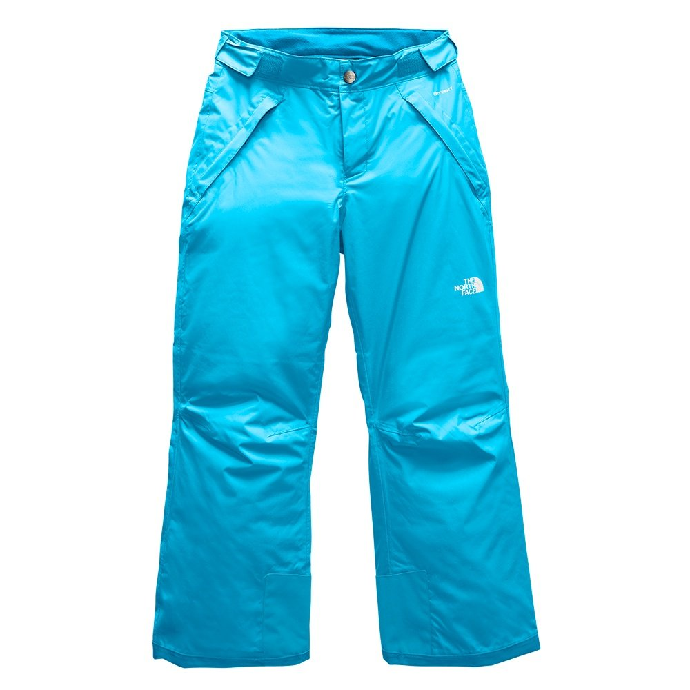 The North Face Freedom Insulated Ski Pant (Girls') - Turquoise Blue