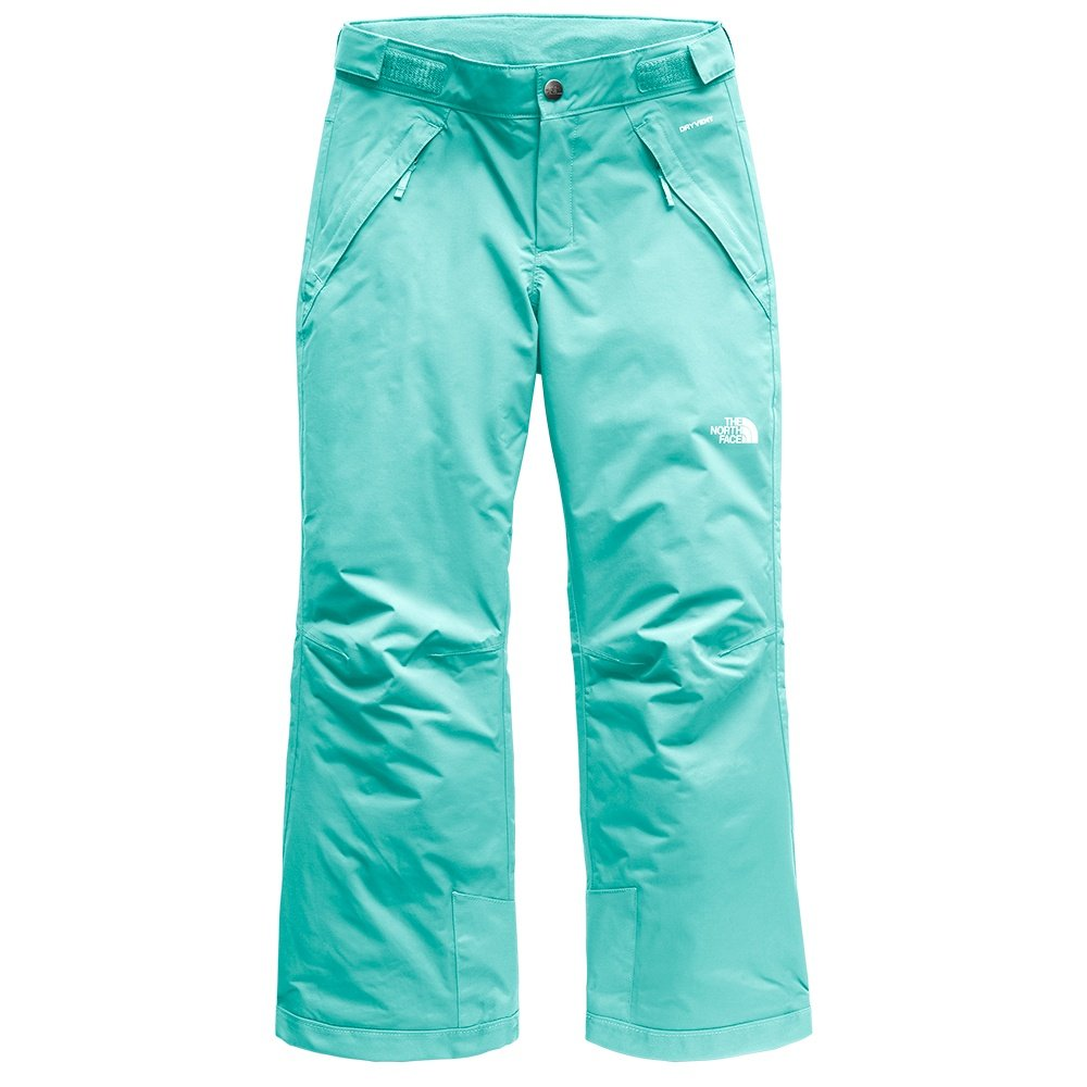 The North Face Freedom Insulated Ski Pant (Girls') - Mint Blue