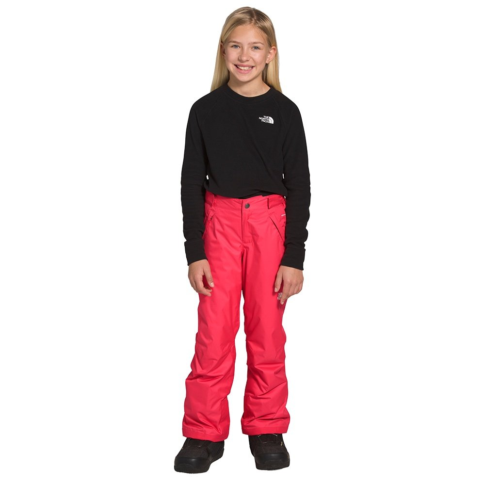 The North Face Freedom Insulated Ski Pant (Girls') - Paradise Pink