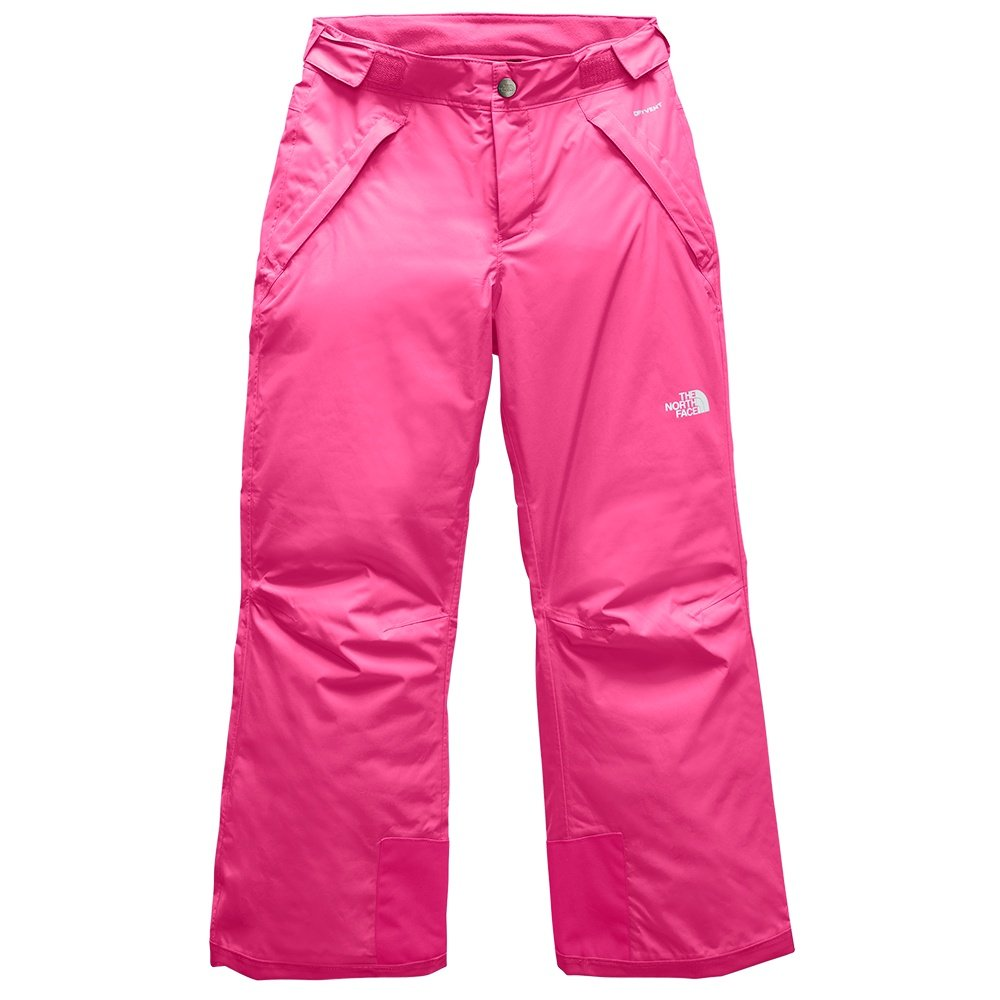 The North Face Freedom Insulated Ski Pant (Girls') - Mr Pink