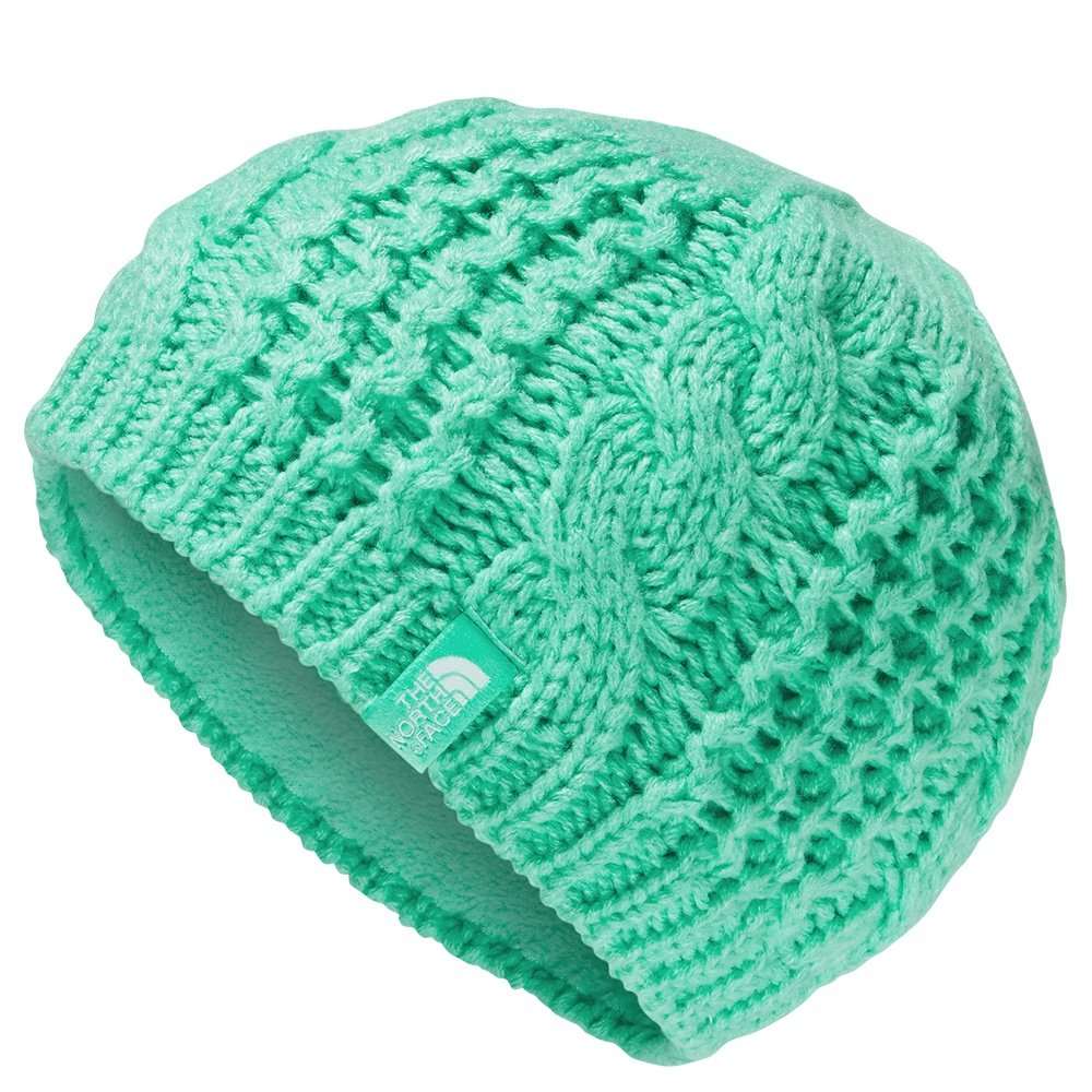 The North Face Cable Minna Beanie (Kids') - Bermuda Green