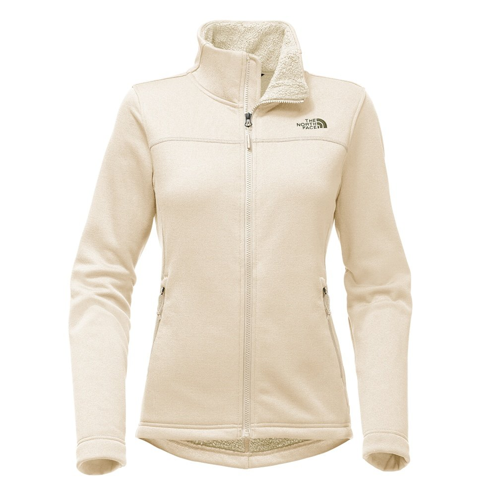 The North Face Timber Full-Zip Sweater (Women's) - Vintage White