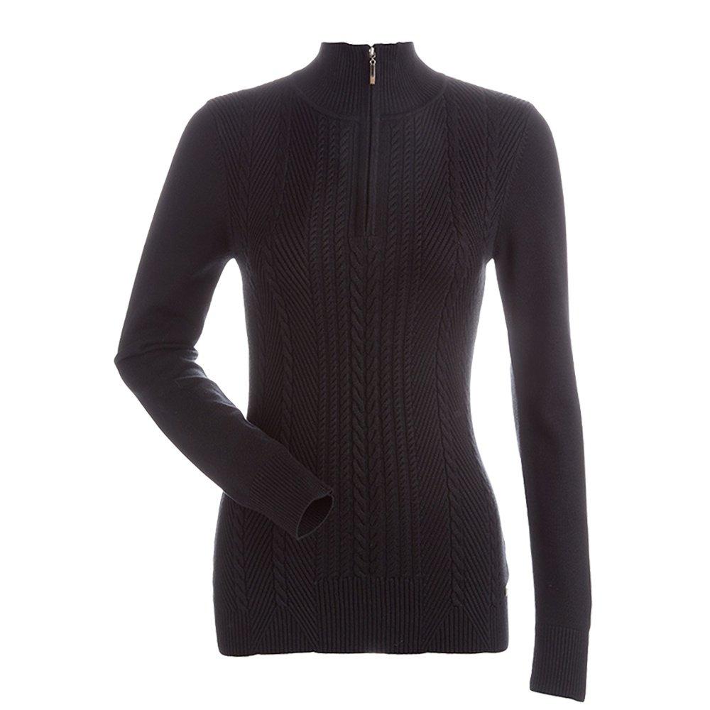 Nils Diana Half Zip Sweater (Women's) - Black