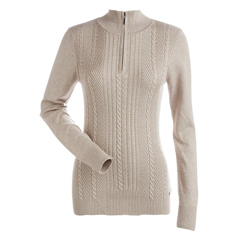 Nils Diana Half Zip Sweater (Women's) - Champagne