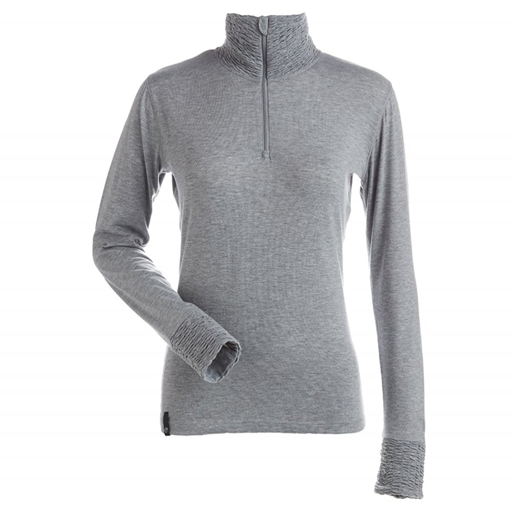 Nils Holly 1/4-zip Turtleneck Mid-Layer (Women's) - Silver