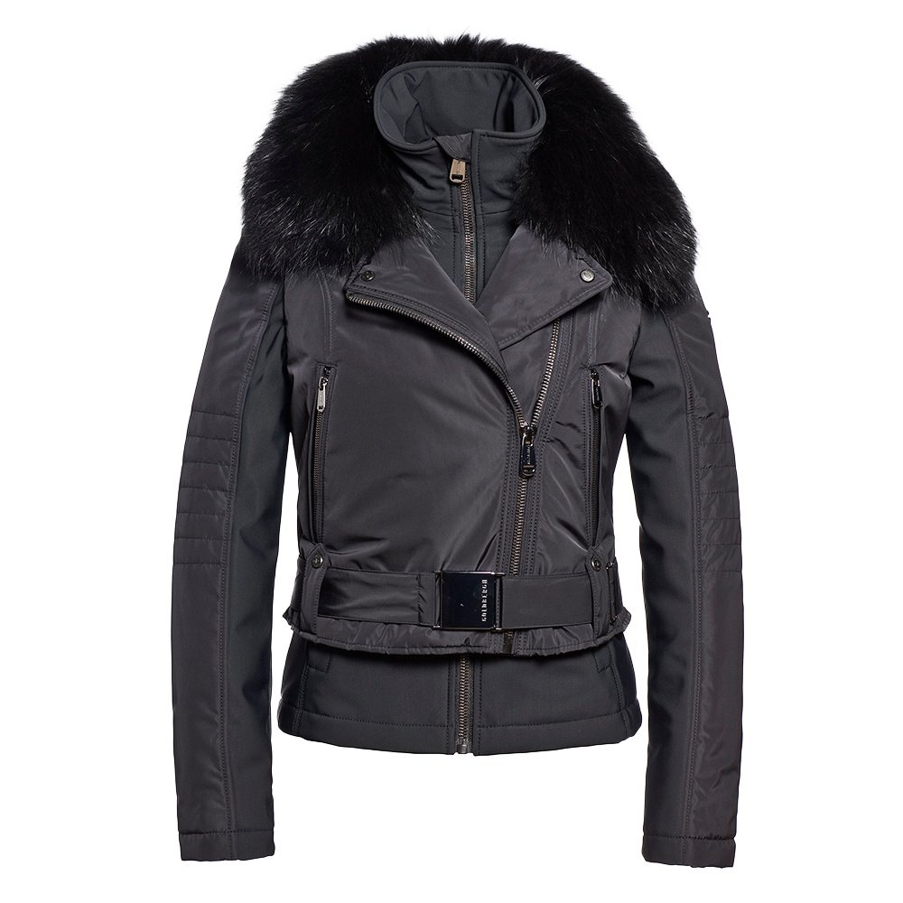 Goldbergh Miyoko 5-in-1 Ski Jacket with Real Fur (Women's) - Black