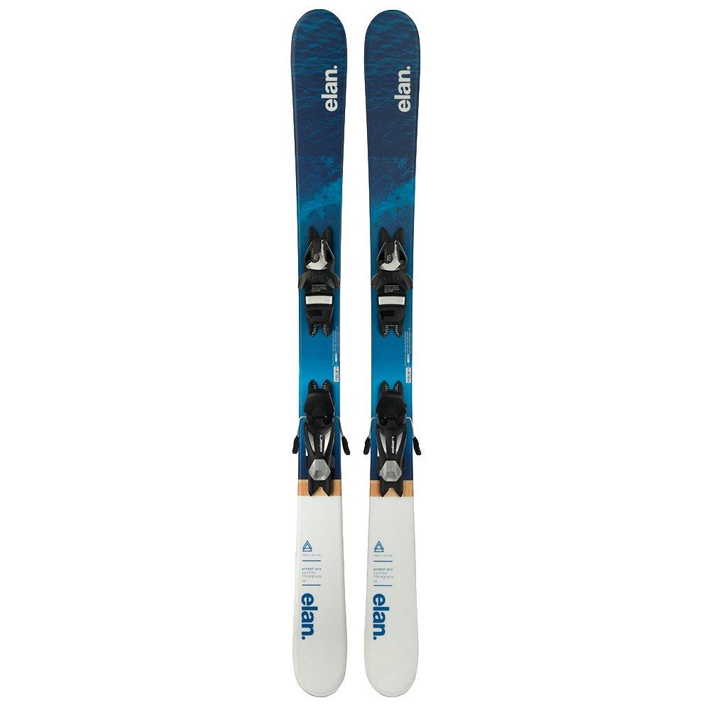 Elan Pinball Pro Junior Ski System with Elan EL 7.5 Shift Bindings (Girls') -