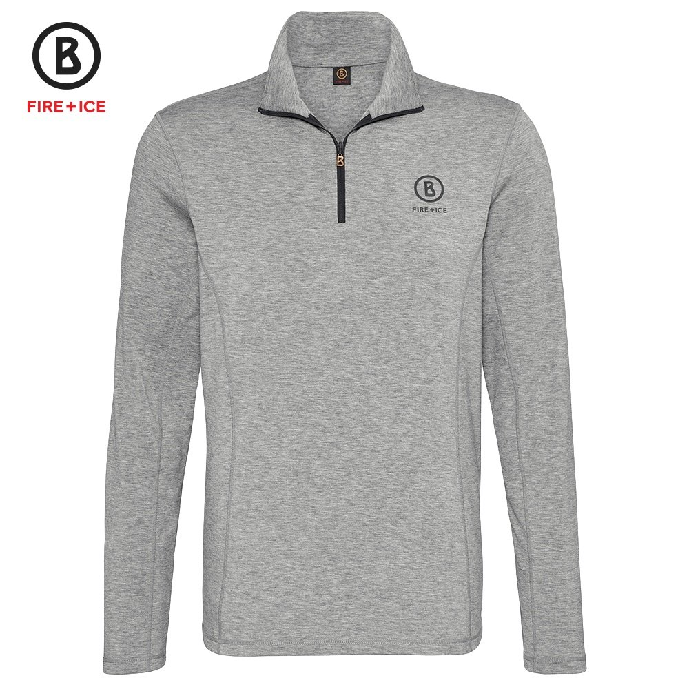 Bogner Fire + Ice Berto2 Fleece Mid-Layer (Men's) - Gray