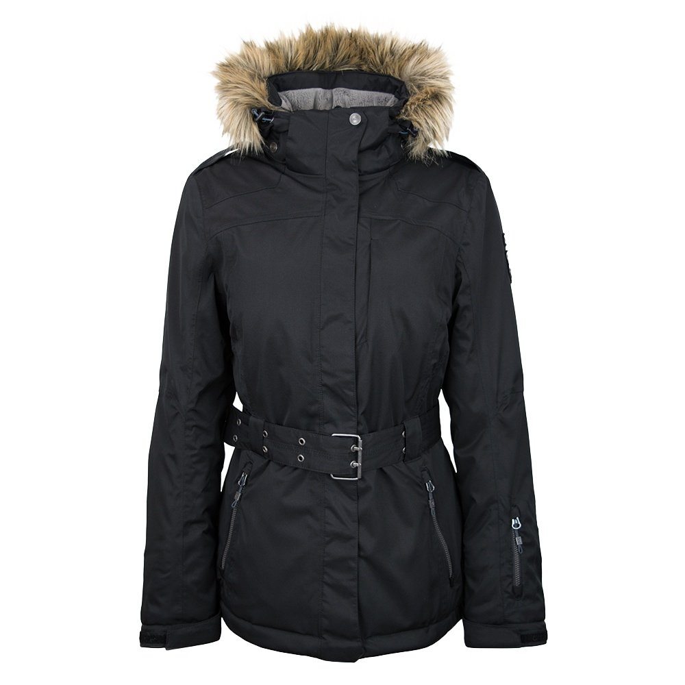 Killtec Camilia Jacket with Faux Fur (Women's) - Black