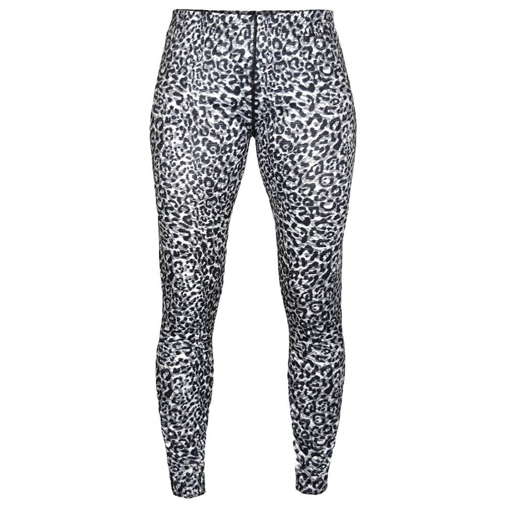 Hot Chillys Peachskin Print Bottom Baselayer (Women's) - Snow Leopard