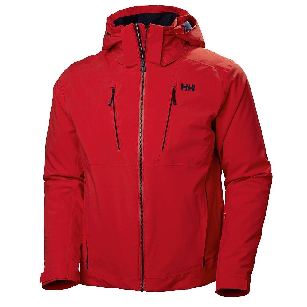 Helly Hansen Alpha 3.0 Ski Jacket (Men's) - Alert Red