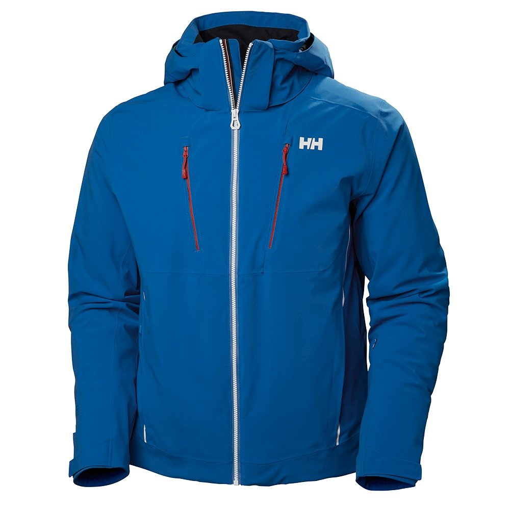 Helly Hansen Alpha 3.0 Ski Jacket (Men's) - Electric Blue