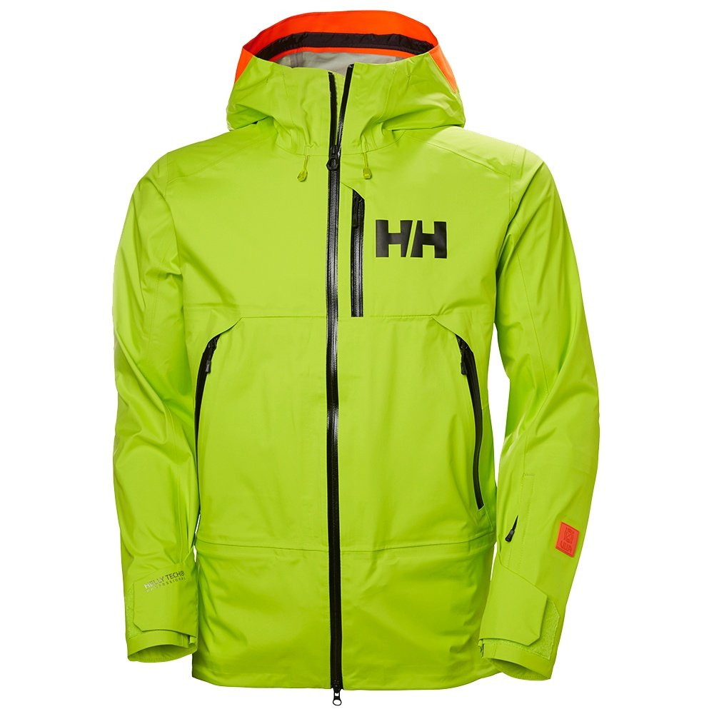 Helly Hansen Sogn Shell Ski Jacket (Men's) - Azid Lime