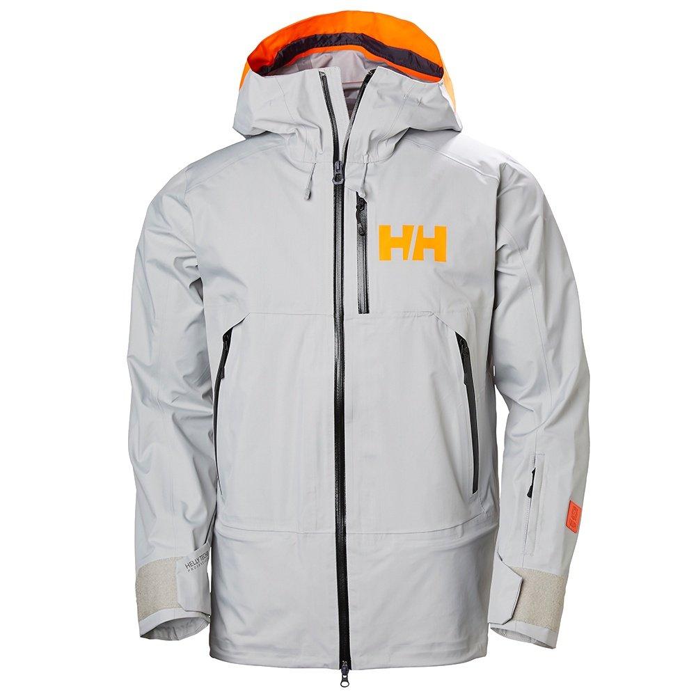 Helly Hansen Sogn Shell Ski Jacket (Men's) - Light Gray