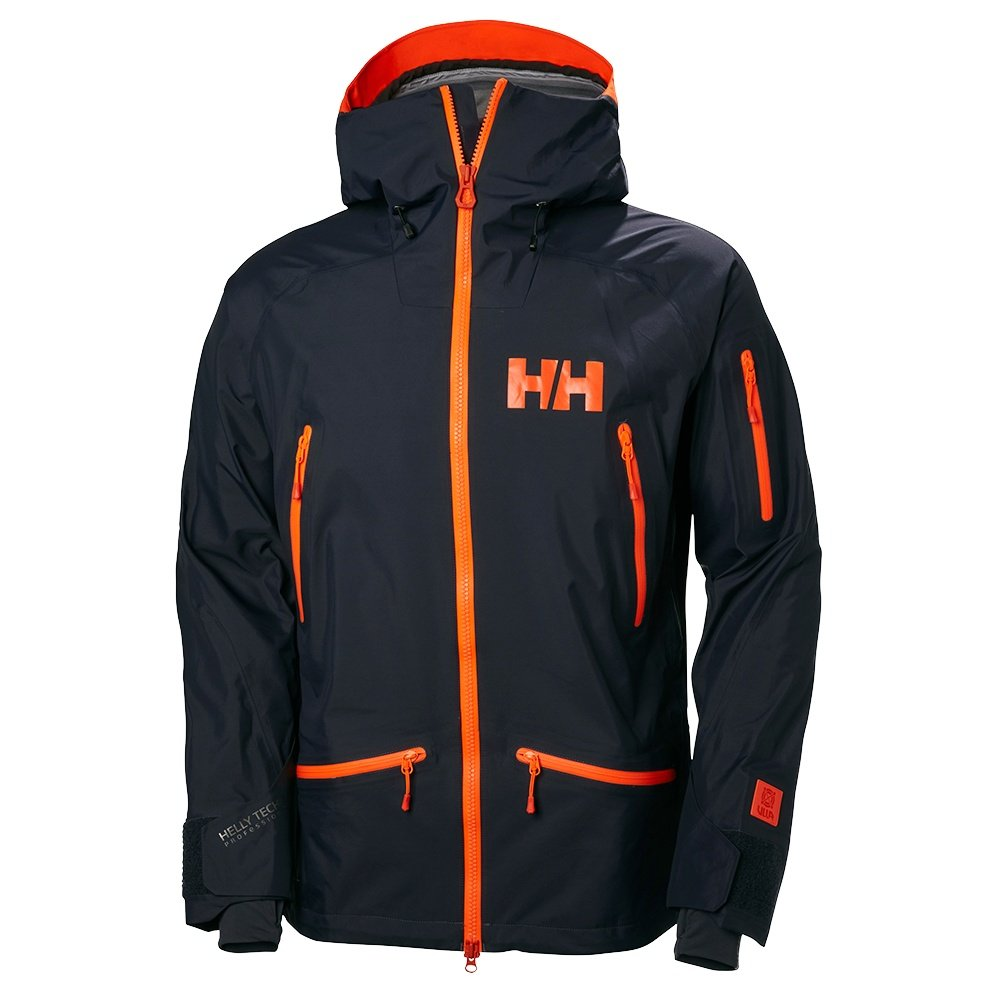 Helly Hansen Ridge Shell Ski Jacket (Men's) - Graphite Blue