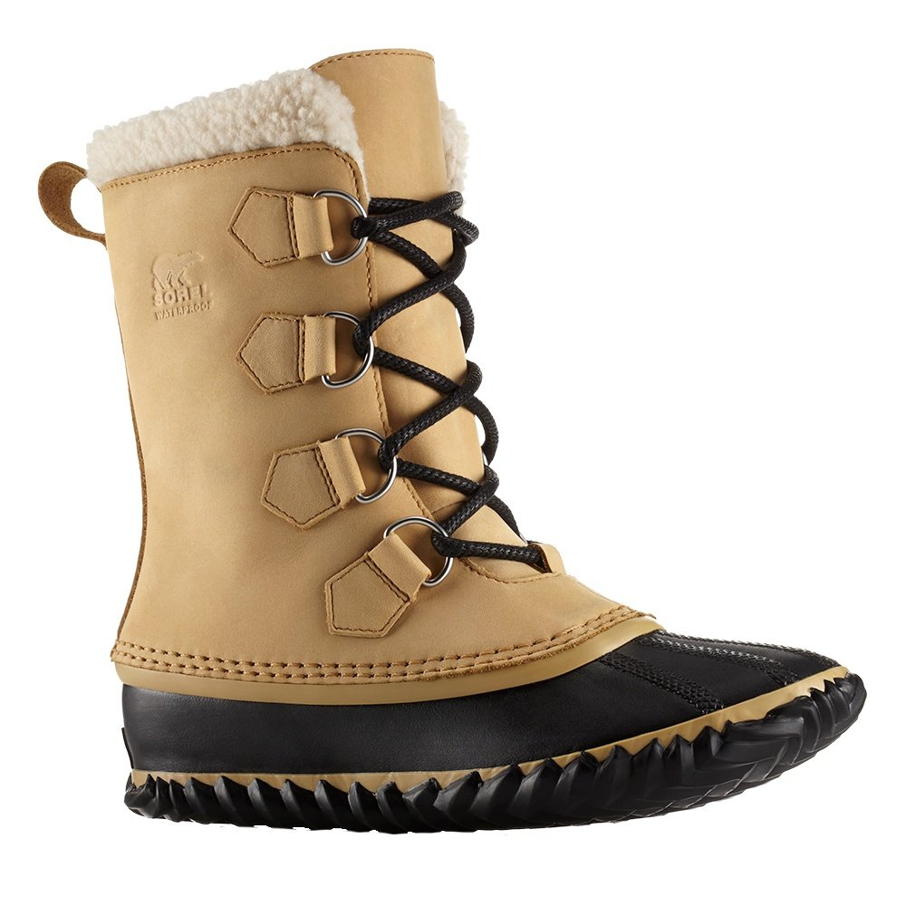 Sorel Caribou Slim Boot (Women's) - Curry