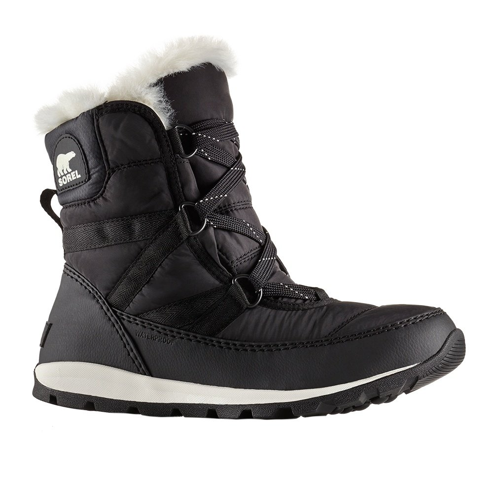 Sorel Whitney Short Lace Boot (Women's) - Black