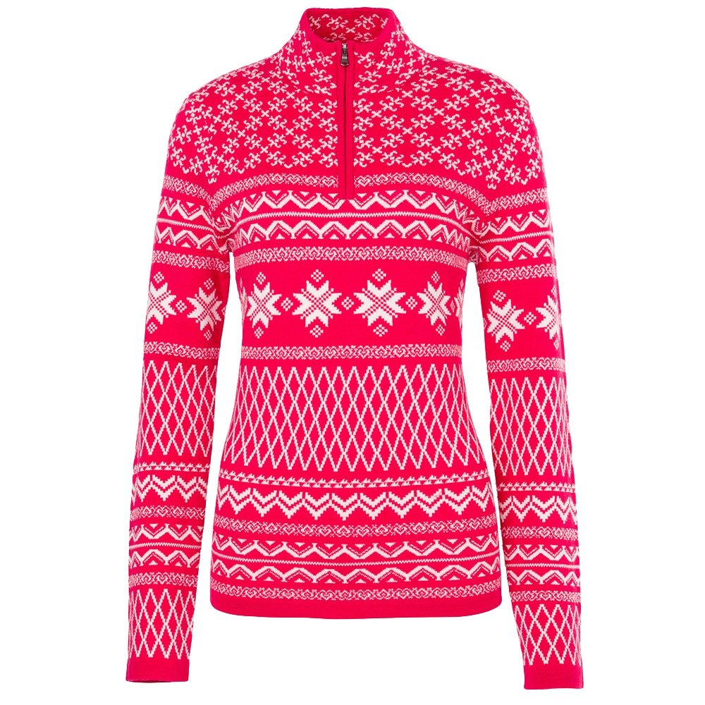 Meister Grace Half-Zip Sweater (Women's) - Cranberry