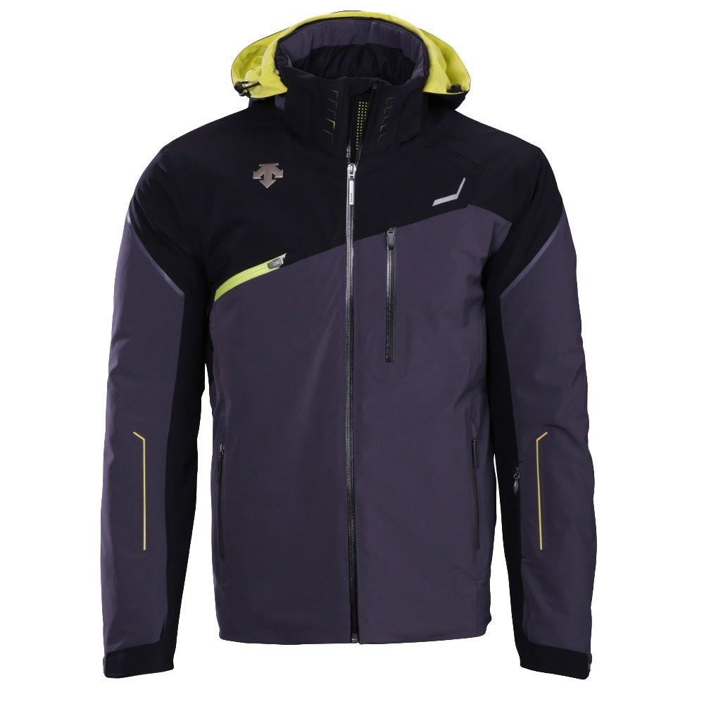 Descente Fusion Ski Jacket (Men's) - Anthracite Gray/Black/Sulfur Lime