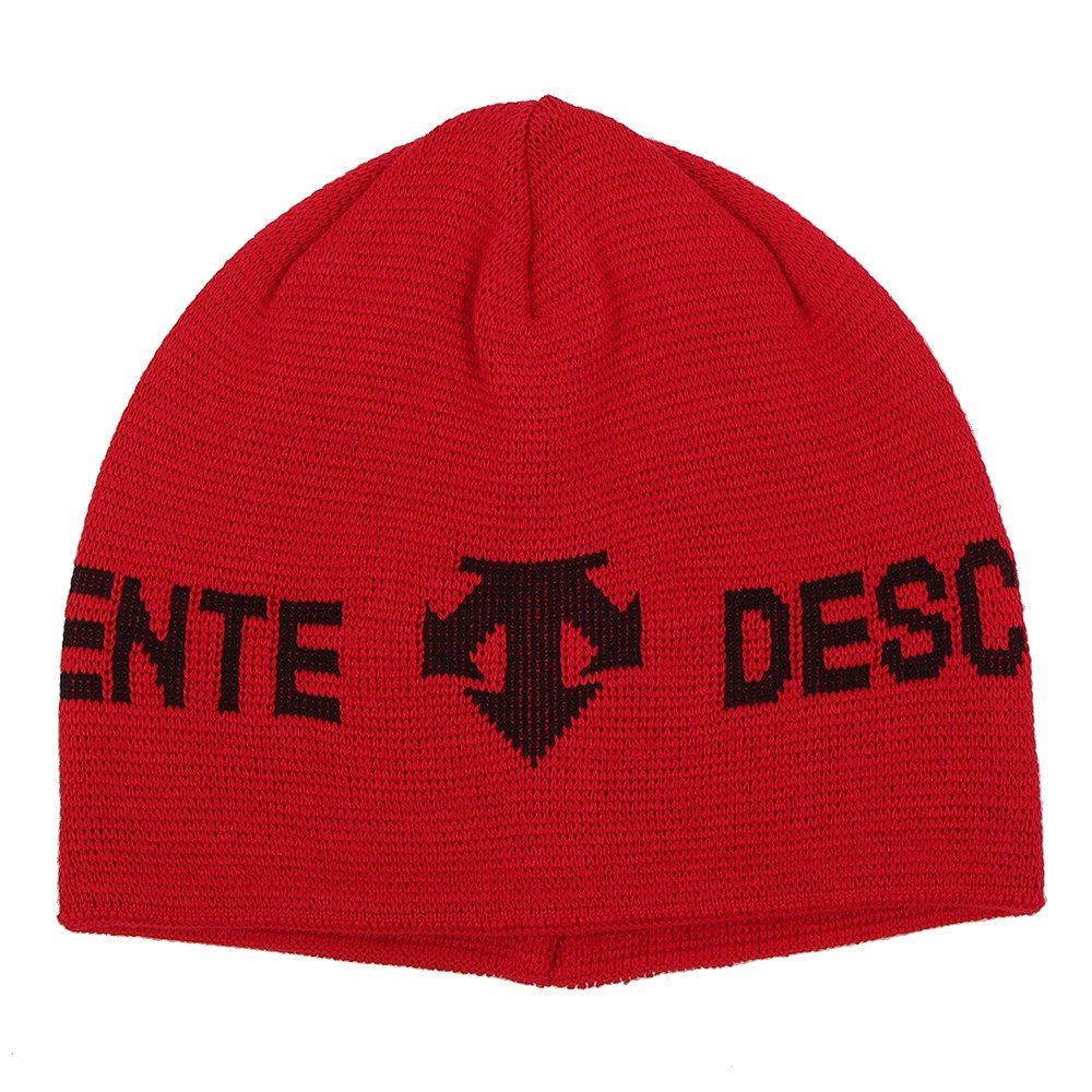 Descente Boone Hat (Men's) - Electric Red /Black