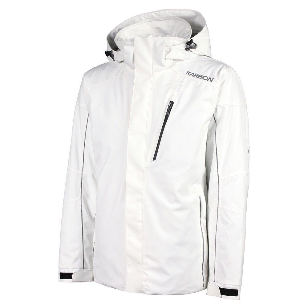 Karbon Chromium Ski Jacket (Men's) - Arctic White/Black