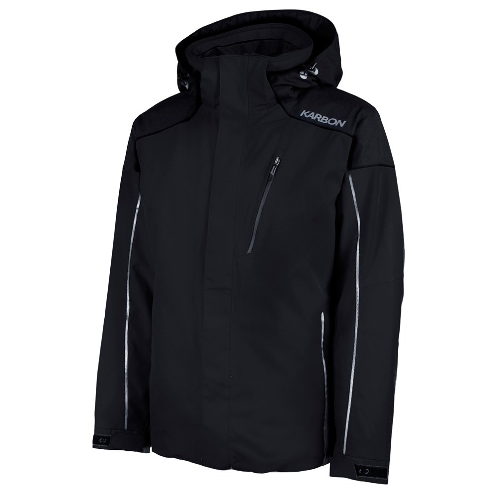 Karbon Chromium Ski Jacket (Men's) - Black/Charcoal