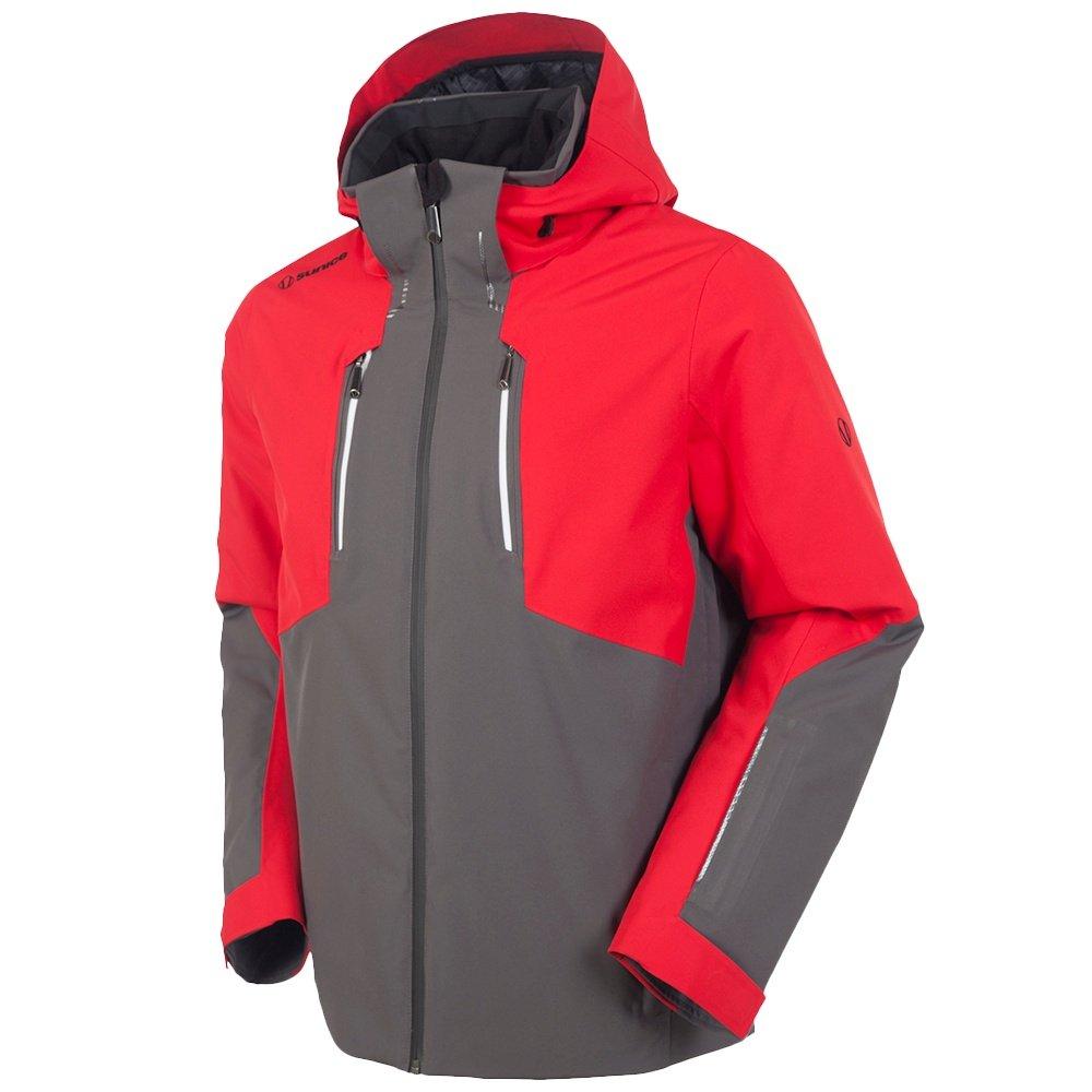 Sunice Heli Ski Jacket (Men's) - Carbon/Merlot