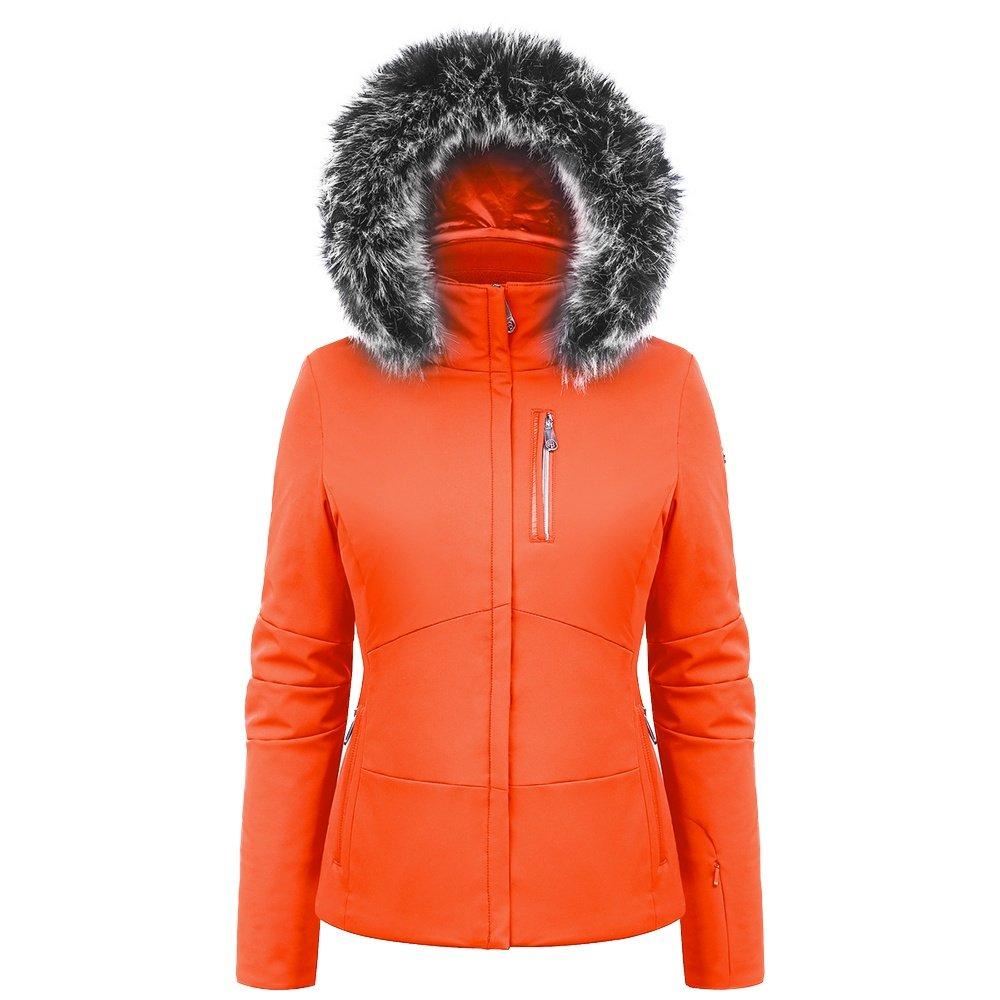 Poivre Blanc Stretch Ski Jacket with Faux Fur (Women's) -
