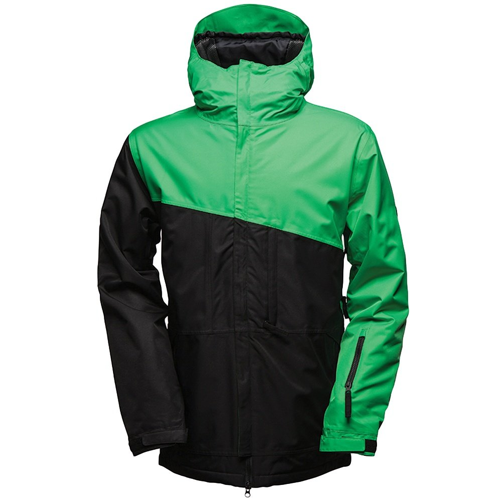 686 Prime Insulated Jacket (Men's) - Black/Kelly