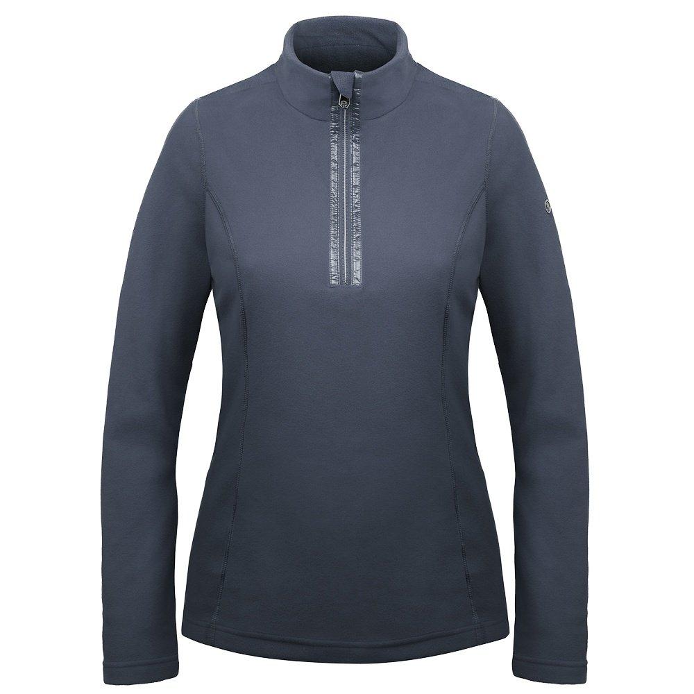 Poivre Blanc Micro Fleece 1/4 Zip Mid-Layer (Women's) - Gothic Blue