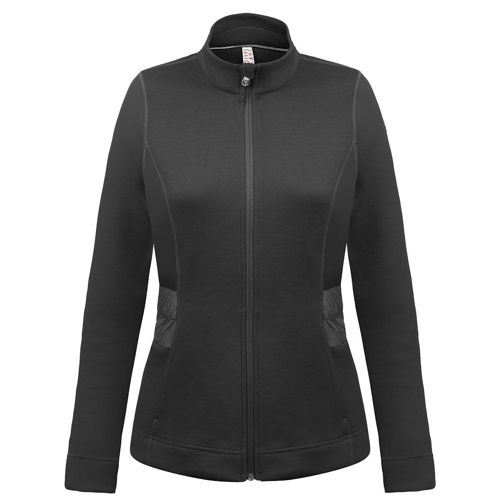 Poivre Blanc Stretch Fleece Jacket (Women's) - Black