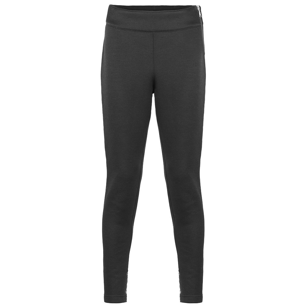 Poivre Blanc Stretch Fleece Pant (Women's) - Black
