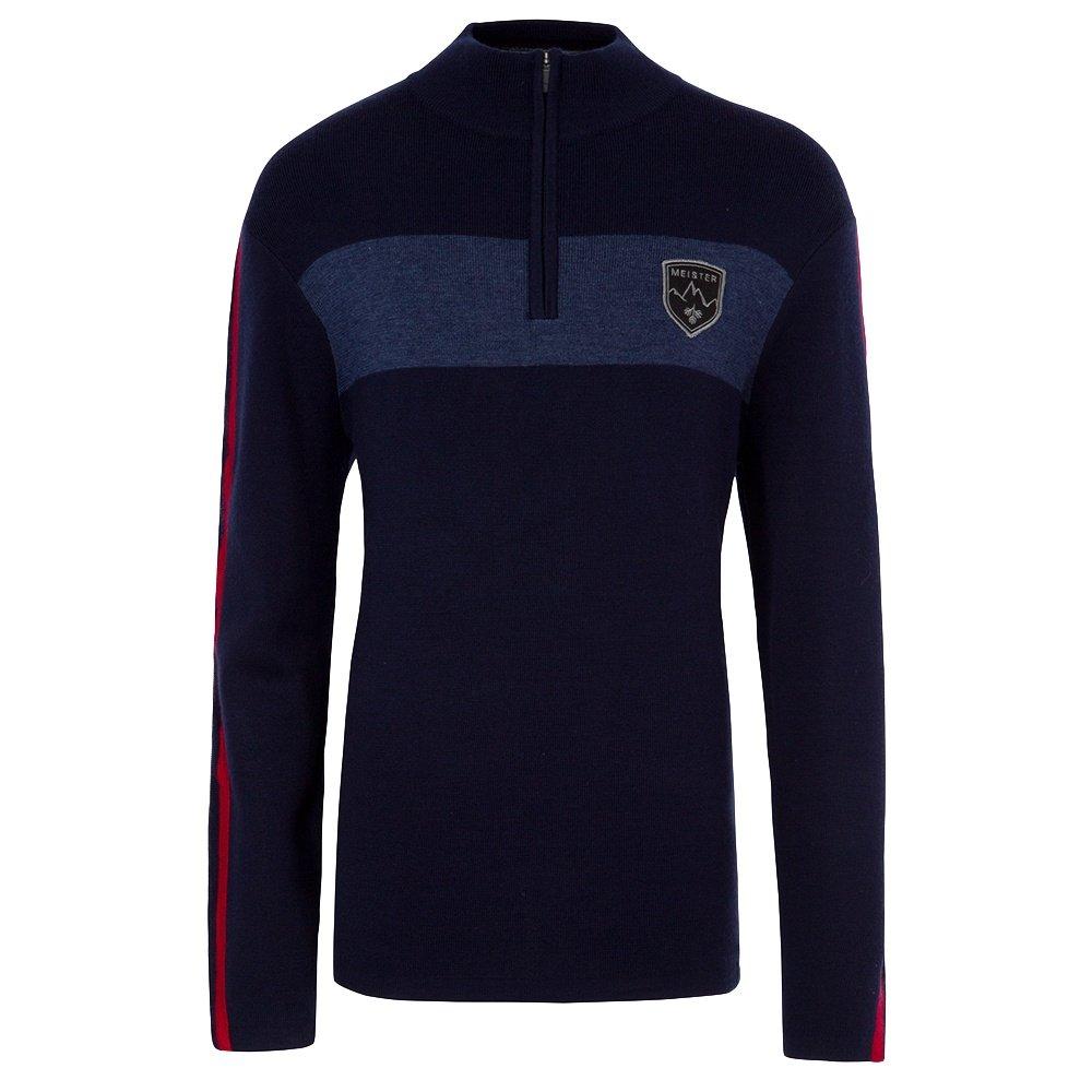 Meister Penn Half-Zip Sweater (Men's) - Deep Navy/Denim