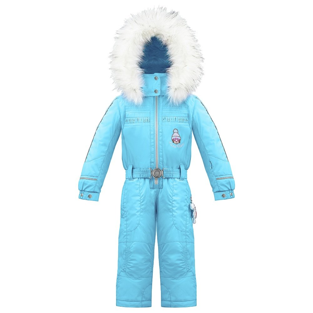 Poivre Blanc Ski Overall with Faux Fur (Little Girls') -