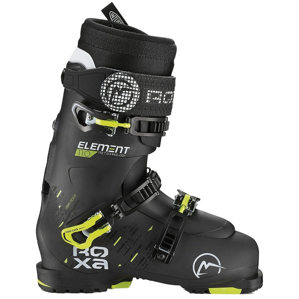 Roxa Element 110 IR Ski Boots (Men's) - Black/Black